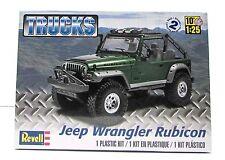 Jeep Wrangler Rubicon Revell 85-4503 1/25 New Truck Model Kit