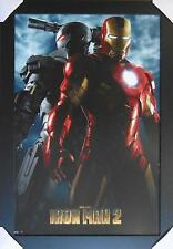 IRON MAN 2 MOVIE COVER FRAMED POSTER