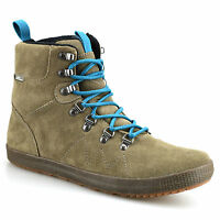 Mens Cushe Matthias Leather Walking Hiking Waterproof Trainers Boots Shoes Size
