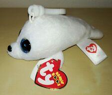 Peluche foca ty beanie boos largo 11 cm pupazzo originale seal plush soft toys