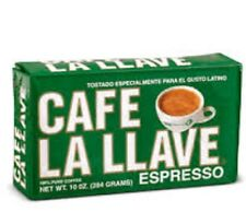 Cafe La Llave 12 PACK of Cuban coffee ground Espresso cafe Cuban Cappuccino 10oz