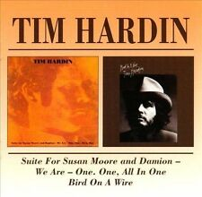 CD TIM HARDIN SUITE FOR SUSAN MOORE AND DAMION (1969) and BIRD ON A WIRE (1970)