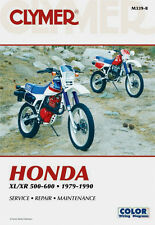 Clymer Repair Service Shop Manual Vintage Honda XL500S/R XL600R XR500/R XR600R