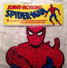 Vintage 1977 Joint Action Spiderman