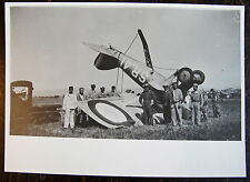 AVIATION, PHOTO CRASH AVION NIEUPORT DELAGE, SR.41