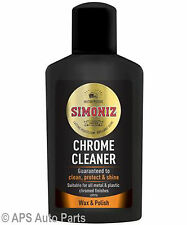 Simoniz Chrome Cleaner Clean Protect & Shine Auto Care Protection Cleaning New