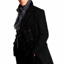 Sherlock Holmes Lana Trench Cape Robe Costume Cosplay tutte le dimensioni disponibili