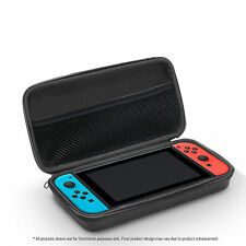Nintendo Switch Hard Shell Carrying Display Case EVA Black Plain Bag Cover