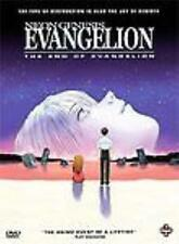 Neon Genesis Evangelion: The End Of Evangelion DVD VIDEO MOVIE manga fantasy BOX