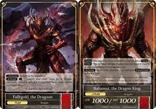 Force of Will TCG Falltgold, The Dragoon // Bahamut, The Dragon King - TAT-026 -