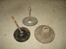 SPARE WHEEL CLAMPS X 3, OLD HOLDEN, OLD FORD, SEE PHOTO'S