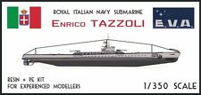 Italian Submarine Tazzoli 1/350 resin kit