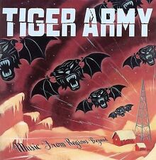 FREE US SH (int'l sh=$0-$3) USED,MINT CD Tiger Army: Music From Regions Beyond (