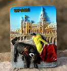 TOURIST SOUVENIR Resin 3D FRIDGE MAGNET ----- Spain