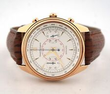 GIRARD PERREGAUX CLASIQUE CHRONOGRAPH GP 4900 18K ROSE GOLD 4910 WATCH