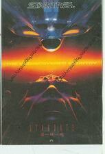 """STAR TREK-UNDISCOVERED COUNTRY-POSTER ON POSTCARD-1992-4""""X6""""-(SK-202)"""