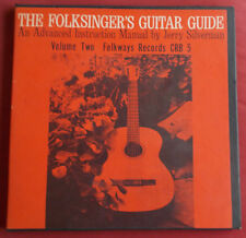 FOLKSINGER'S GUITAR GUIDE VOL 2  + LIVRET JERRY SILVERMAN LP BOX FOLKWAY