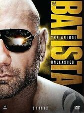 WWE: Batista - The Animal Unleashed (DVD, 2014, 3-Disc Set)