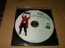 Say Anything DVD Only,Used,Plays Fine.