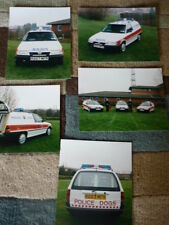 VAUXHALL ASTRA ESTATE POLICE PRESS or PUBLICITY PHOTOS x  Brochure connected  jm