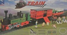 NewRay Train set Steam locomotive + 2 Car, G Gauge 1 Guage:32