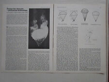 3/1975 ARTICLE 3 PAGES DESIGN FOR DESCENT PARACHUTE TECHNOLOGY