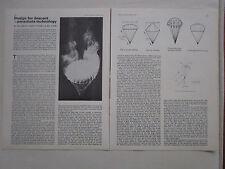 3/1975 ARTICLE 3 PAGES DESIGN FOR DESCENT PARACHUTE TECHNOLOGY