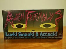 NEW/Never Opened!!- Alien Friendly? Board Game Iris & Kitty 1993