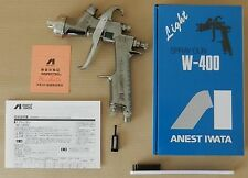 New ANEST IWATA W-400 162G 1.6mm Gravity Spray Gun without Cup from Japan