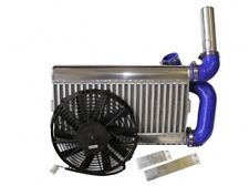 FORD FIESTA RS TURBO AIRTEC Stadio 1 MONTAGGIO ANTERIORE LEGA INTERCOOLER KIT E VENTOLA