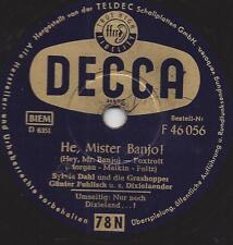 Sylvia Dahl und Orchester Günter Fuhlisch : Nur noch Dixieland...