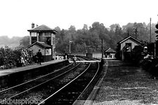 Kershopefoot Station & Signal Box Cumbria Rail Photo