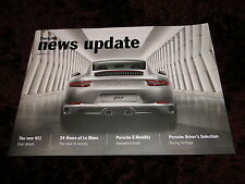 Porsche news update - 2015 Edition 3 - New 911, Le Mans, Black Edition
