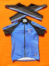 MY BIKE Maillot Jersey Maglia Gore Wind Stopper Outerwear Detachable Sleeves XXL
