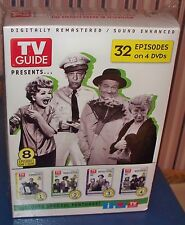 TV Guide Presents 32 Episodes on 4 DVD's ~ Classic TV ~ Sealed Boxset