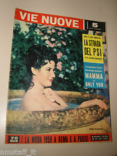 VIE NUOVE=1959/5=PILAR CANSINO FILM SOLEDAD COVER=CECIL DE MILLE=MIKE MIKOYAN