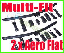 Pair Aero Flat Wiper Blades 24 19 600mm 480mm To Fit Skoda Octavia 2004+
