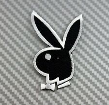Embroidered Patch Iron Sew  Logo PLAYBOY BUNNY RABBIT lady sexy sex girl