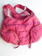 DIESEL Pink Cloth with Yellow Fabric Purse / Cross Body Bag -Adjustable strap