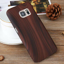 Wood Grain Tree Hard Protector Skin Case Cover For Samsung Galaxy S7 S7 edge