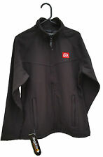 REGATTA LADIES UPROAR SOFTSHELL BLACK JACKET Size10 - TRA645 with GHA Logo