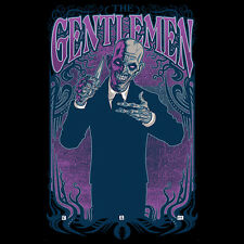BUFFY THE VAMPIRE SLAYER Villains THE GENTLEMEN Joss Whedon HUSH TEEFURY T-SHIRT