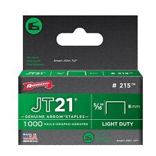 """Staples-Freccia Staples jt21, (215) 8mm - 5/16 """" - scatola da 1000"""