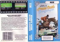 Harvey Smith Show Jumper (Software Projects 1985) MSX Game - Clamshell GC (#502)