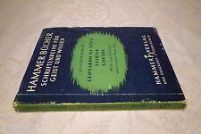 Leonardo da Vinci Leibniz Goethe, Joachim March, Hammer Bücher Schriftenreihe