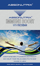 Absonutrix IMMUNE BOOST Fucoidan Brown Seaweed Antioxidant Patch 500mg 30Patches