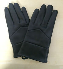 WOMENS BLACK FAUX LEATHER GLOVES SIZE SMALL BRAND NEW WINTER bargain!