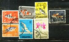 Malaya Malaysia 1962 Singapore Definitive Loose set