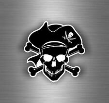 Sticker decal motorcycle car tuning room kids befroom pirates pirate skull r4