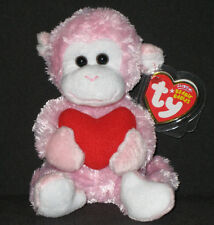 TY MISCHIEF the MONKEY BEANIE BABY - MINT with MINT TAG